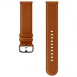 ремешок для умных часов Samsung Galaxy Watch Leather Band ET-SLR82MAEGRU для Samsung Galaxy Watch Active/Active2 коричневый