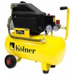 Компрессор воздушный KOLNER KAC 24 LM, 210 л/мин, купить за 7 295руб.