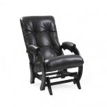 кресло-качалка Мебель Импэкс глайдер МИ Модель 68 Vegas Lite Black, венге