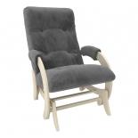 кресло-качалка Мебель Импэкс  глайдер МИ Модель 68 Verona Antrazite Grey, 13кг