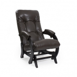 кресло-качалка Мебель Импэкс  глайдер МИ Модель 68 Vegas Lite Amber, венге, 13кг