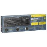 Клавиатура Defender Element HB-195 RU,мультимедиа, купить за 565руб.