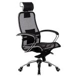 кресло офисное МЕТТА Samurai S-2.03 , Черный 4665302684059