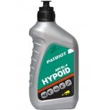 масло трансмиссионное для садовой техники Patriot HYPOID API GL-4 80W85 (850030727) (трансмиссионное, полусинтетика, 0.946 л)