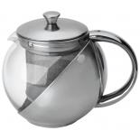 чайник заварочный MALLONY Menta-600 0,5л стекл.