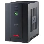источник бесперебойного питания APC Back-UPS 1100VA with AVR, Schuko Outlets for Russia, 230V