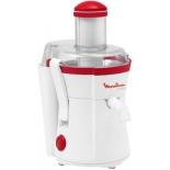 Соковыжималка Moulinex JU350B39, белая / красная