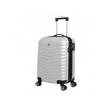 чемодан SwissGear FRIBOURG АБС-пластик 37x23x54см 35 л серебристый