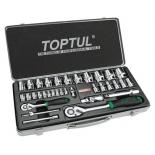 Набор инструментов Набор торцевых головок TOPTUL GCAD3402, купить за 5 890руб.