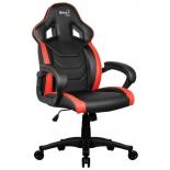 кресло офисное Aerocool AC60C AIR-BR , черно-красное