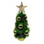 новогодняя елка Christmas новогодняя настольная (6019-2) 0.33 м