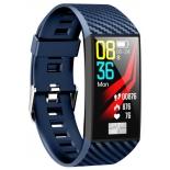 фитнес-браслет Smarterra Fitmaster Pulsar IPS, синий/синий
