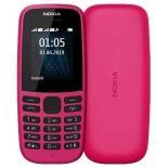 сотовый телефон Nokia 105 Dual Sim, розовый