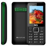 сотовый телефон BQ 2436 FORTUNE P (2 SIM), черный/зеленый