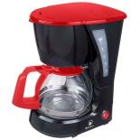 кофеварка Василиса КВ1-600, черный с красным