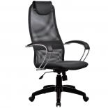 кресло офисное Метта BK-8 PL № 21, темно-серое