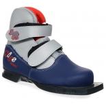 ботинки лыжные Marax 75мм KIDS 36 сине-серебряные