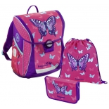 рюкзак детский Step By Step BaggyMax Fabby Sweet Butterfly, 3 предмета (138520)