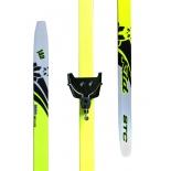 комплект лыжный STC 75мм STEP KID рост 110, без палок