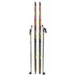 комплект лыжный STC NNN Rottefella INNOVATION, рост 200, палки