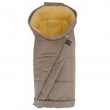 спальный мешок Kaiser Coosy меховой с косой молнией, Mud