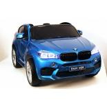 Электромобиль BARTY BMW X6M JJ2168 двухместный, глянец - синий, купить за 29 950руб.