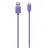 кабель / переходник Belkin microUSB, фиолетовый