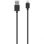 кабель / переходник Belkin Lightning-USB для Apple, черный