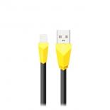 кабель / переходник Remax Aliens RC-030i 1 м, черно-желтый