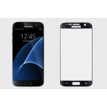 защитное стекло для смартфона Ainy для Samsung Galaxy S7 Edge Full Screen Cover 3D, черное