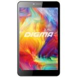 планшет Digma Plane 7.6 3G,  8GB, Wi-Fi, 3G,  Android 4.4 черный [ps7076mg]