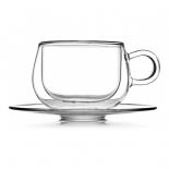 чайная пара Walmer, Viscount, 250мл, стекло