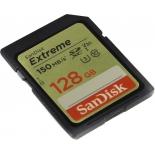 карта памяти SDXC SanDisk Extreme Class 10 UHS Class 3 V30 150MB/s 128Gb