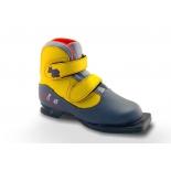 ботинки лыжные Marax 75мм KIDS 36 серо-желтые
