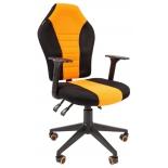 игровое компьютерное кресло Chairman game 8  tw черн.оранжевый