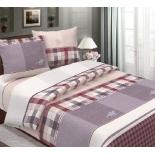 комплект постельного белья BRUNO 2-спальный с евро простыней хлопок Поло 70х70 см