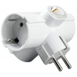 разветвитель электропитания Uniel S-GES3-16ТВ, белый