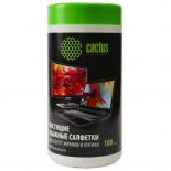 чистящая принадлежность для ноутбука Cactus CS-T1001, салфетки для экрана
