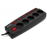 сетевой фильтр Sven Platinum SV-012983, черный