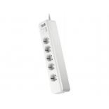 сетевой фильтр APC PM5-RS, 5 розеток, 1,83 м., белый