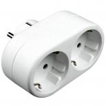 разветвитель электропитания Uniel S-GES2-160, белый