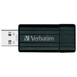 usb-флешка Verbatim Store 'n' Go PinStripe 16GB, чёрная