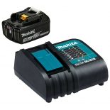 батарея аккумуляторная для ИБП Makita DC18SD-1шт+BL1830B-1шт,18В,3.0Ач,Li-ion,кор