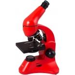 микроскоп Levenhuk Rainbow 50L PLUS, апельсиновый