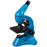 микроскоп Levenhuk Rainbow 50L PLUS,  лазурный