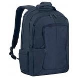 сумка RIVACASE 8460 комп 17 - т-синяя
