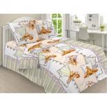 комплект постельного белья ЭГО ЭД-007 -Спящий щенок, детский, поплин