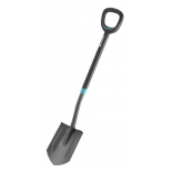 лопата штыковая Gardena ErgoLine 17012-20, нержавеющая сталь, 117 см