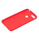 чехол для смартфона Borasco для Huawei Y6 Prime 2018 (силиконовый), красный