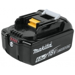 батарея аккумуляторная для ИБП Makita Аккумулятор тип BL1860B,18В,6АчLi-ion